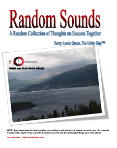 Random Sounds Book