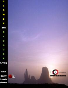 SLOWER and BIGGGER Living 2014 Cover