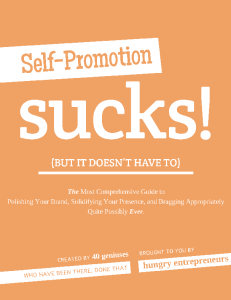 Self-Promotion Sucks Book