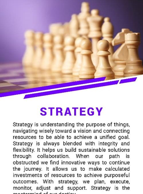 Down to Business and Strategy