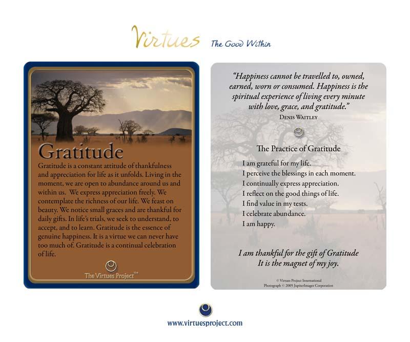 A Grateful Practice